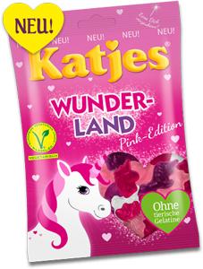 Katjes Wunderland Pink Edition 200g