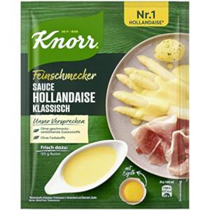 Knorr Feinschmecker Sauce Hollandaise mit Frühlingskräutern 28g