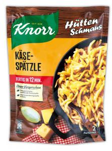 Knorr Hütten Schmaus Käse Spätzle 149g für 2 portionen