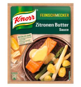 Knorr Feinschmecker Zitronen Butter Sauce 52g für 250ml