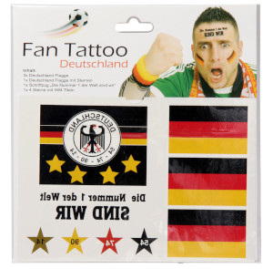 Fan Tatoo Deutschland