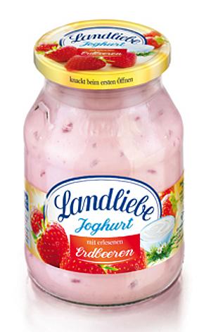 Landliebe Fruchtjoghurt Erdbeere 500g