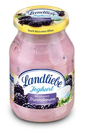 Landliebe Fruchtjoghurt Brombeere 500g