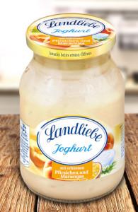 Landliebe Fruchtjoghurt Pfirsich-Maracuja 500g