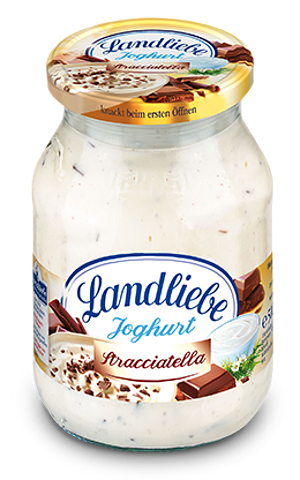 Landliebe Fruchtjoghurt Stracciatella 500g