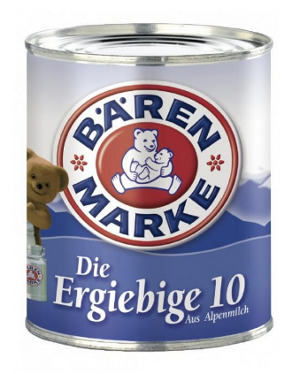 Bären Marke Die Ergiebige 10 für 320ml