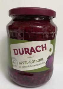 Durach Apfel-Rotkohl mit Apfelsaft & Apfelstückchen 650g