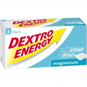 Dextro Energy Magnesium 3er Pack 138g