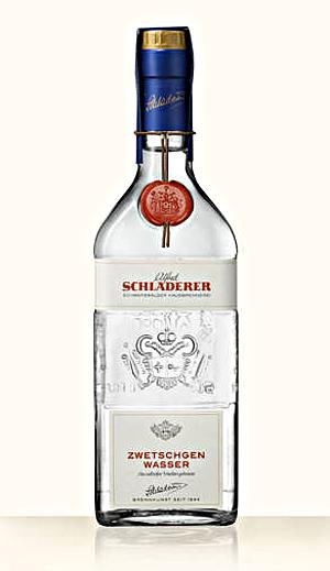 Schladerer Miniatur Zwetschgenwasser Alk. 42% vol 30ml