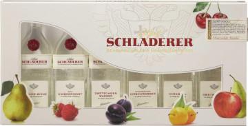 Schladerer Miniatur Packung 6 x 30ml