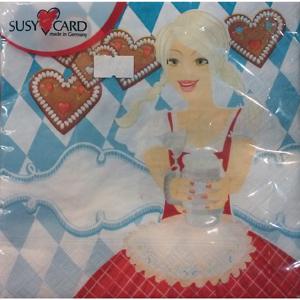 Susy Card Bayerische Servietten
