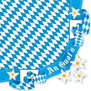 Susy Card Bayerische Servietten 16er (40x40cm)