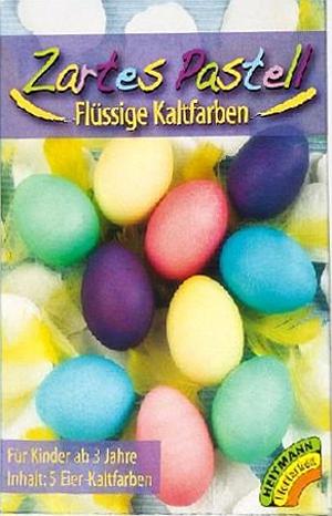 Heitmann Flüssige Kaltfarben Zartes Pastel