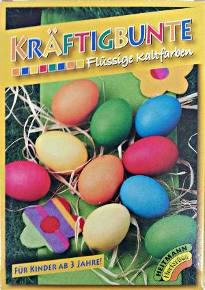 Heitmann kräftig bunte flüssige Kaltfarben für Eier