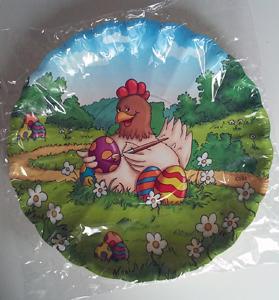 Brauns Heitmann Pappteller Osterhuhn 1 Stück