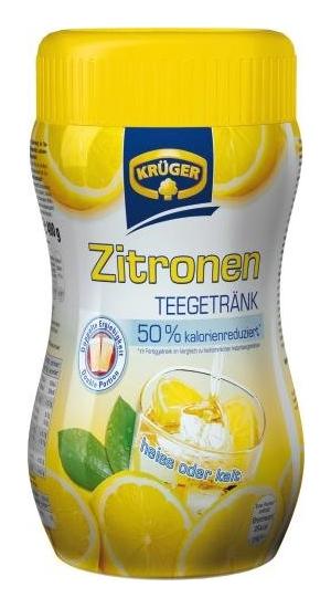 Krüger Zitrone Teegetrank (50% Kalorienreduziert)