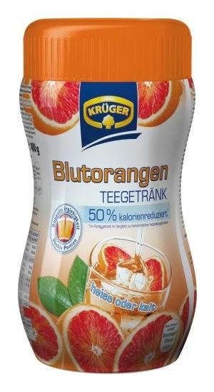Krüger Blutorange Teegetränk (50% Kalorienreduziert)