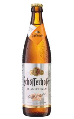 Schöfferhofer Kristallweizen Alk. 5,0% vol 50cl