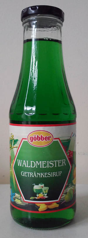Göbber Waldmeister Getränkesirup (500ml)
