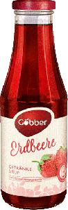 Göbber Erdbeer Getränke Sirup 500ml