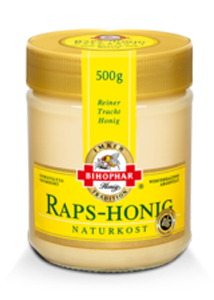 Bihophar Raps-Honig Naturkost 500g