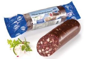 Cornelius Pfälzer Bauernblutwurst mit Schweinfleish aus der EU