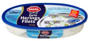 2- Merl Heringsfilets Sahnesauce mit Äpfeln, Zwiebeln & Gurken 500g