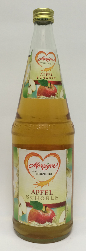 Merziger Apfel-Schorle 1l