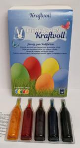 Geroma Eierfarben Kraftvoll (5 Eierfarben à 4,8ml)