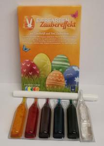 Geroma Eierfarben Zaubereffekt (5 Eierfarben à 4,8ml)