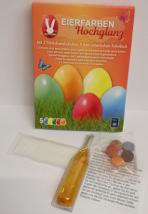 Geroma Eierfarben Hochglanz (5 Eierfarben tabletten)
