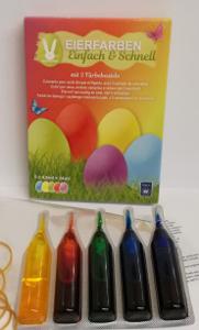 Geroma Eierfarben Einfach & Schnell (5 Eierfarben à 4,8ml)