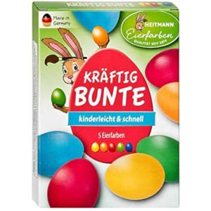 Heitmann Eierfarben Kräftig Bunte Kinderleicht & Schnell