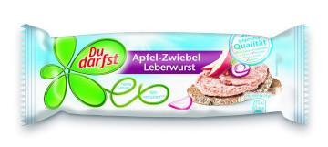 Du darfst Apfel-Zwiebel Leberwurst 100g