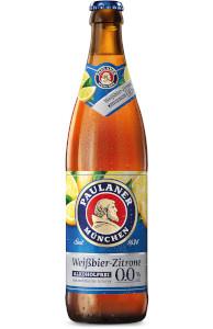 Paulaner Weissbier-Zitrone Alkoholfrei 0,0% vol 50cl