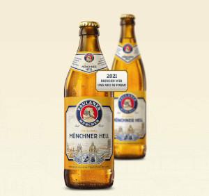 Paulaner Original Münchner Hell Alk. 4,9% vol 50cl
