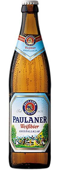 2- Paulaner Weissbier Kristallklar Alk. 5,2% vol 50cl x 4er