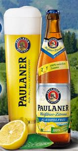 Paulaner Weissbier-Zitrone Alkoholfrei 50cl