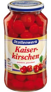 Stollenwerk Kaiserkirschen 680g