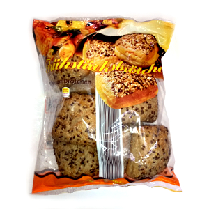 4- Brotland Frühstücksbrötchen Mehrkornbrötchen 560g für 8 Stück