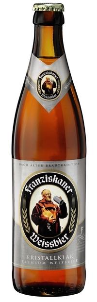 Franziskaner Weissbier Kristallklar 50cl