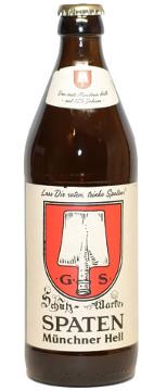 Spaten Münchner Hell Alk. 5,2% vol 50cl