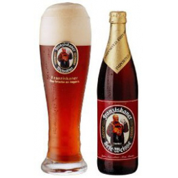 Franziskaner Premium Weissbier Dunkel Alk. 5,0% vol 50cl