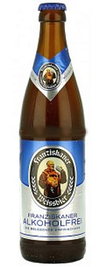 Franziskaner Weissbier Alkoholfrei Alk.<0,5% vol 50cl
