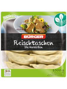Bürger Fleischtaschen Die Gerollten1000g für 10 Stück à 100g