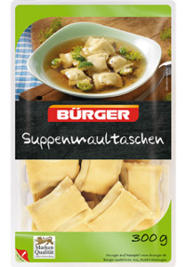 Bürger Suppenmaultaschen 300g