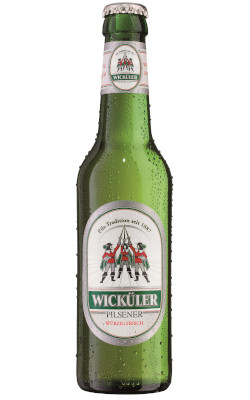 Wicküler Pilsener Alk. 4,9% vol 50cl