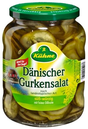 Kühne Dänischer Gurkensalat (670g/360g)