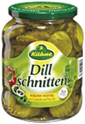 Kühne Dill Schnitten Mit Dill & Paprika 670g