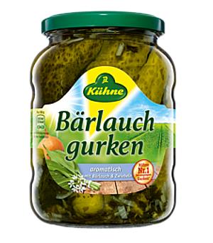 Kühne  Bärlauch-Gurken Mit Bärlauch & Zwiebeln 670g